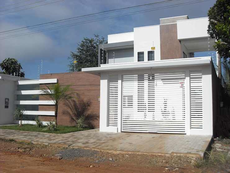 Ricardo Galego - Arquitetura e Engenharia Modern Houses