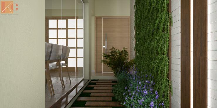 KC ARQUITETURA urbanismo e design Modern conservatory