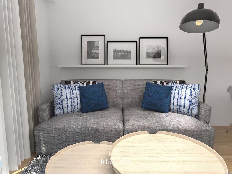 Bhavana Scandinavian style living room