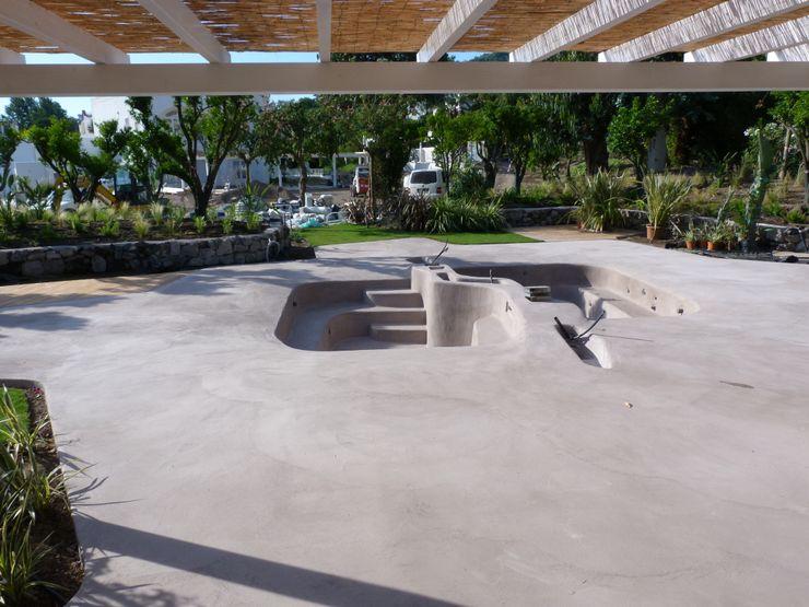 rivestimento piscine ad effetto spiaggia antiscivolo Pavimento Moderno Piscine a laghetto