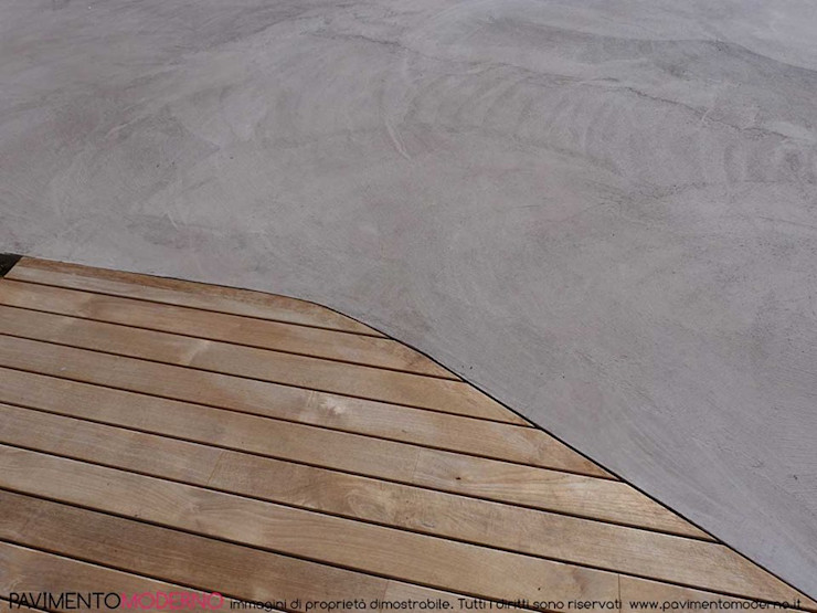 Bordo piscina ad effetto naturale Pavimento Moderno Piscina moderna Beige