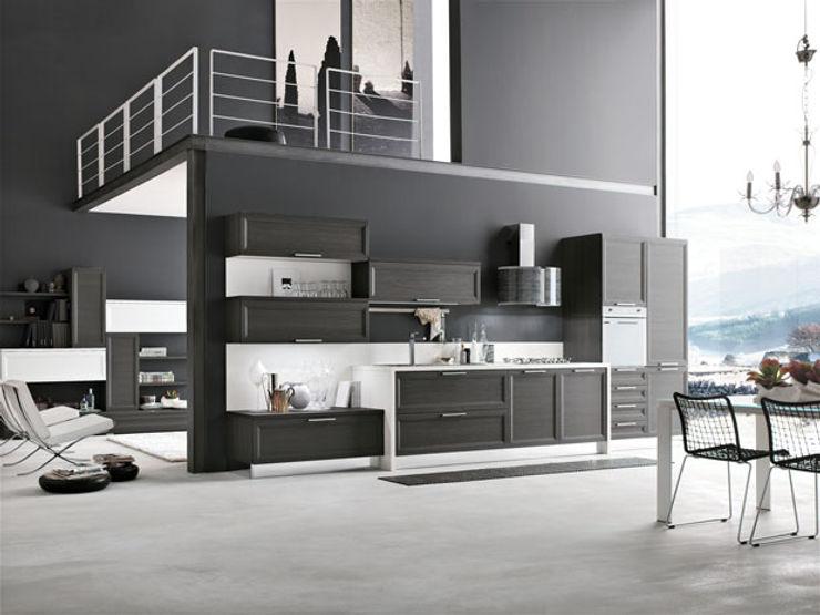 Realizzazioni MD WORK SRL 現代廚房設計點子、靈感&圖片