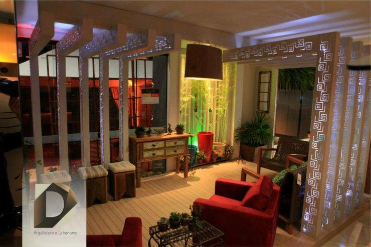 D Arquitetura e Urbanismo Modern living room