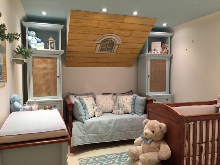 Lucia Tacla Pinturas Especiais Modern nursery/kids room