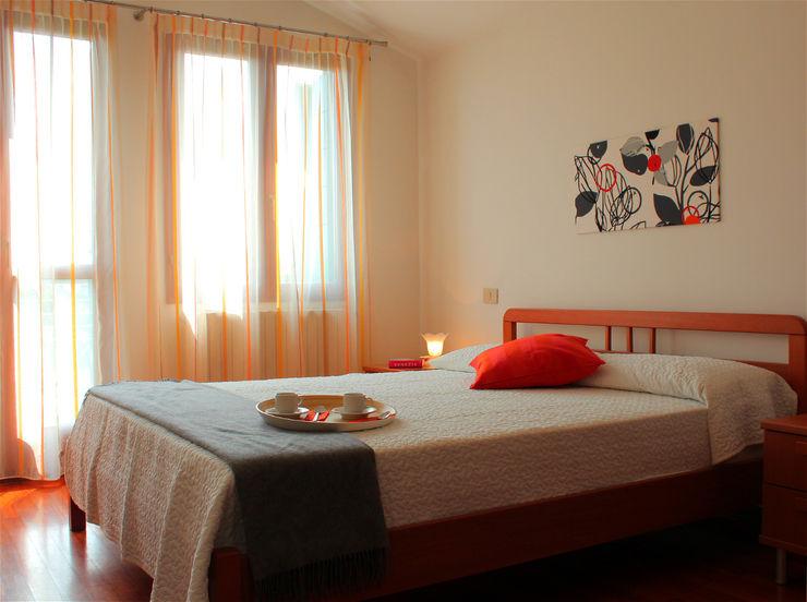 Villetta nell'isola di Pellestrina con obiettivo affitto estivo Before & After 臥室