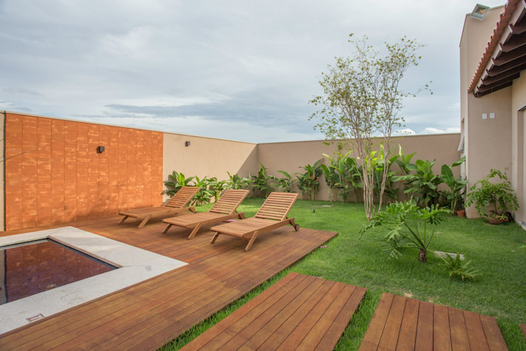 Biloba Arquitetura e Paisagismo Country style pool