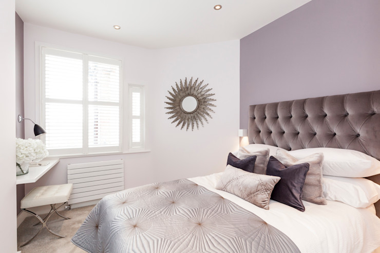 Fulham Penthouse Yohan May Design Modern style bedroom