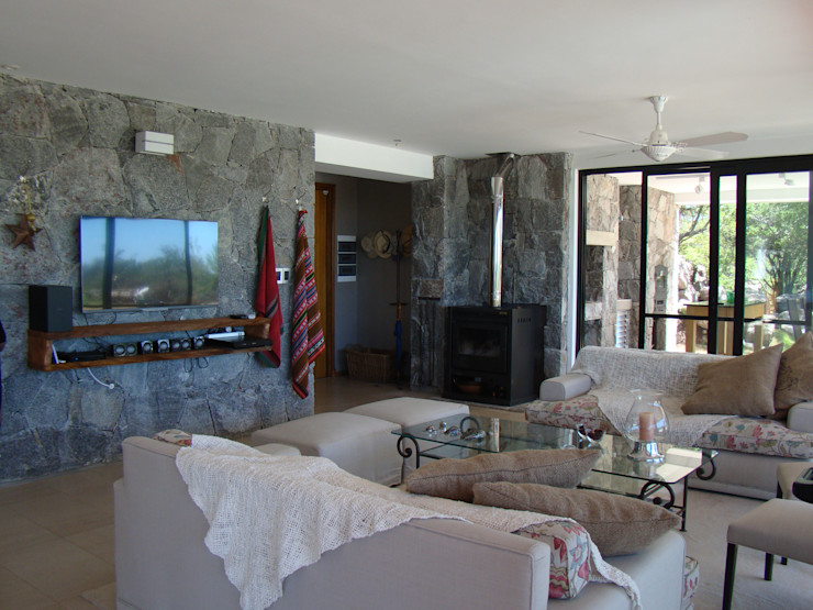 Estudio Monica Fiore Modern Living Room