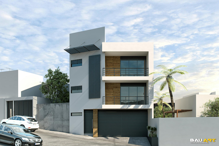 Bau-Art Taller de Arquitectura Casas minimalistas