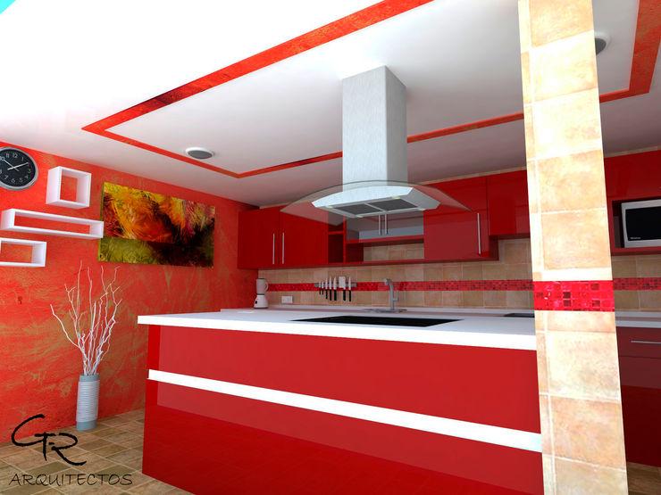 GT-R Arquitectos Modern kitchen