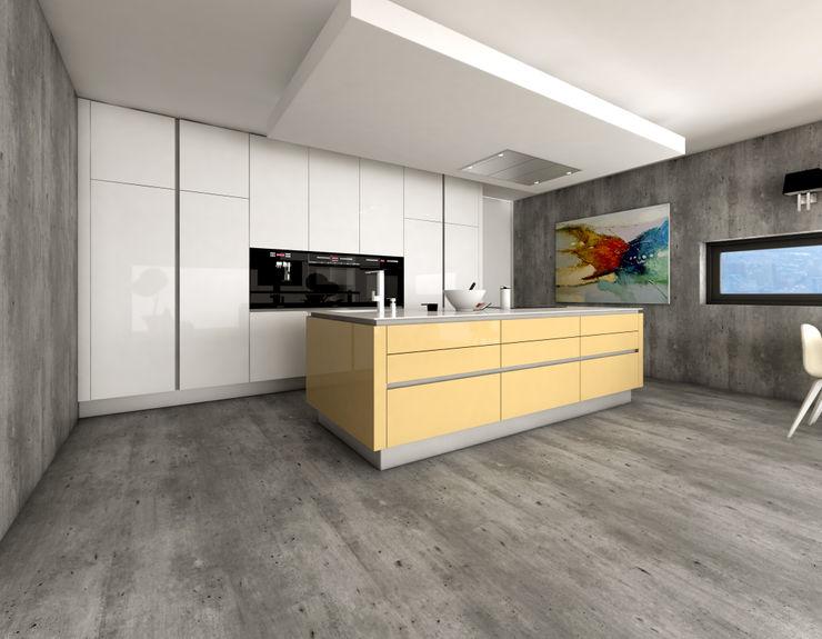 J.Dias KitchenCabinets & shelves MDF Yellow