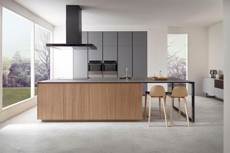 SERIE 45_Isla VIVESPACIO Cocinas de estilo moderno