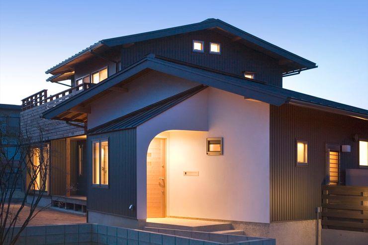 大森建築設計室 Дома в классическом стиле
