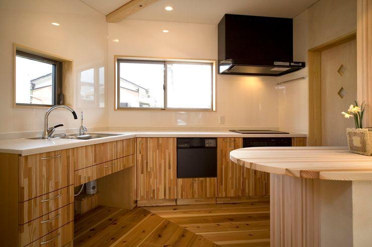 大森建築設計室 Кухня в классическом стиле