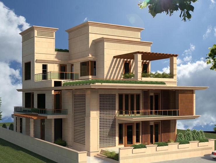 Umaid Heritage Design atelier Modern houses Stone