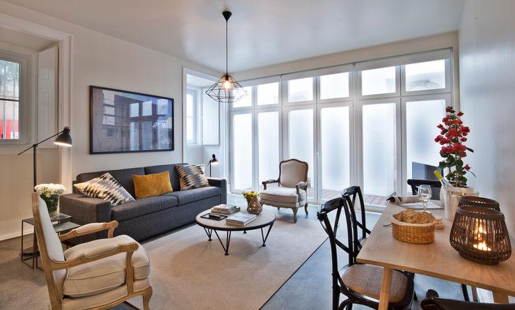 Pureza Magalhães, Arquitectura e Design de Interiores Living roomStools & chairs