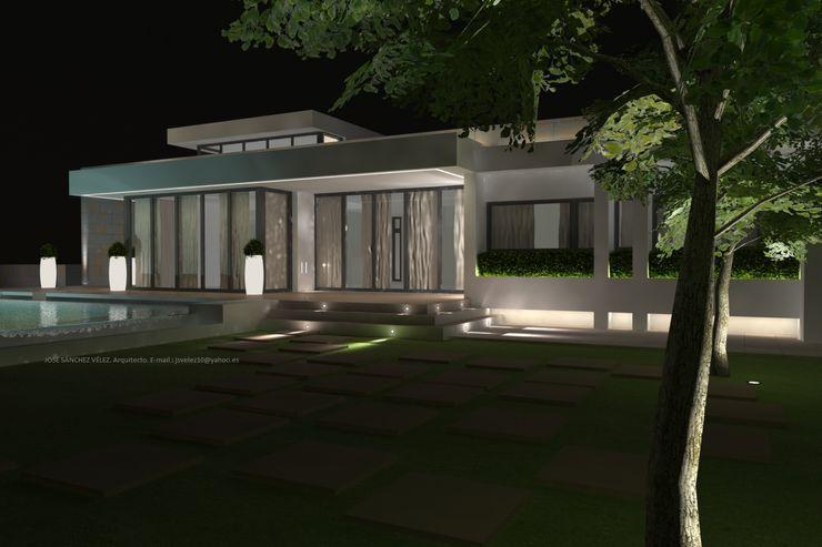 DYOV STUDIO Arquitectura. Concepto Passivhaus Mediterráneo. 653773806 房子