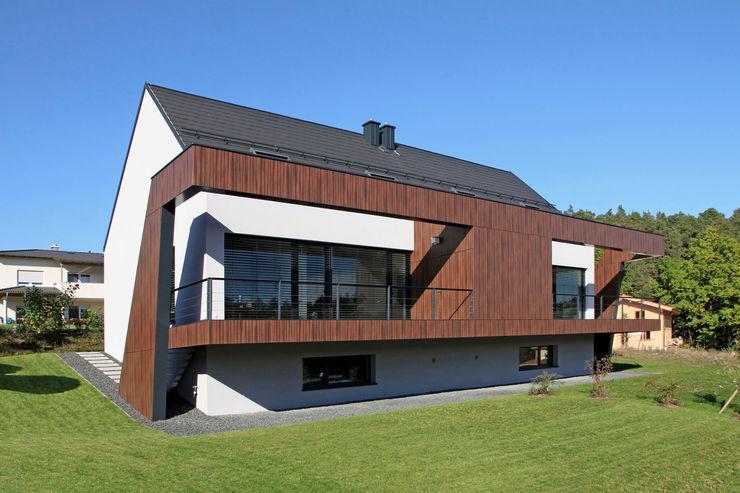 Gartenansicht II Fichtner Gruber Architekten Moderne Häuser