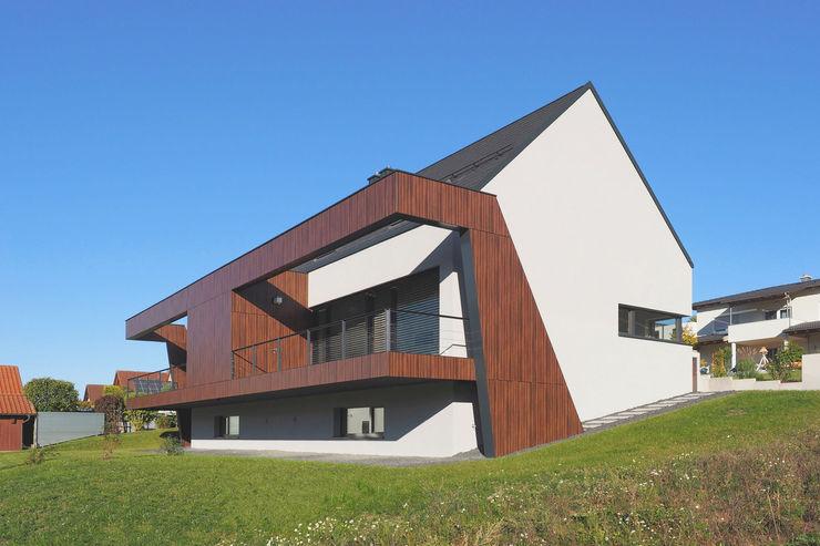 Gartenansicht I Fichtner Gruber Architekten Moderne Häuser