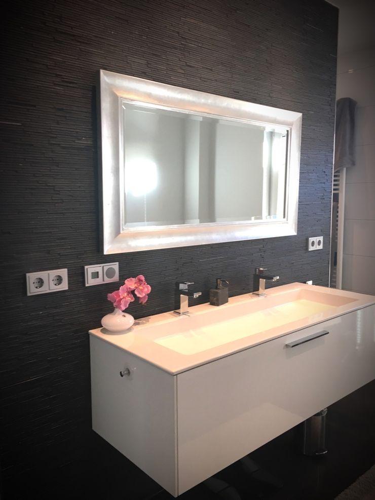 Neubau Einfamilienhaus Göttling Fliesentechnik GmbH Moderne Badezimmer