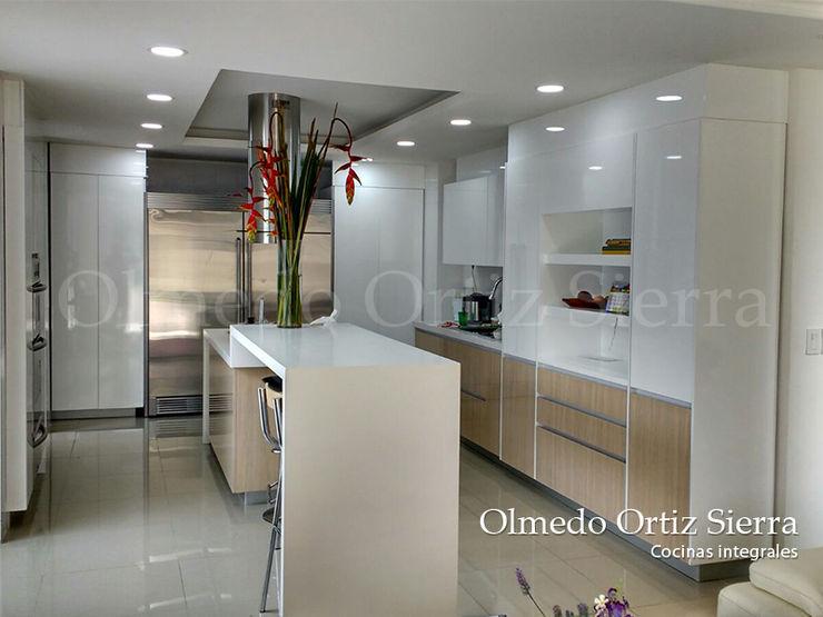 Cocinas Integrales Modernas Cocinas Integrales Olmedo Ortiz Sierra CocinaArmarios y estanterías Madera Blanco