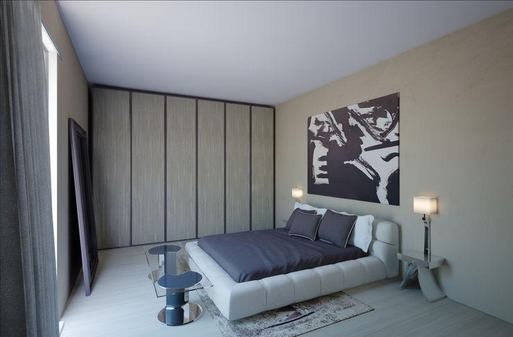 VILLE COLOMBERA 2P COSTRUZIONI srl Camera da letto moderna