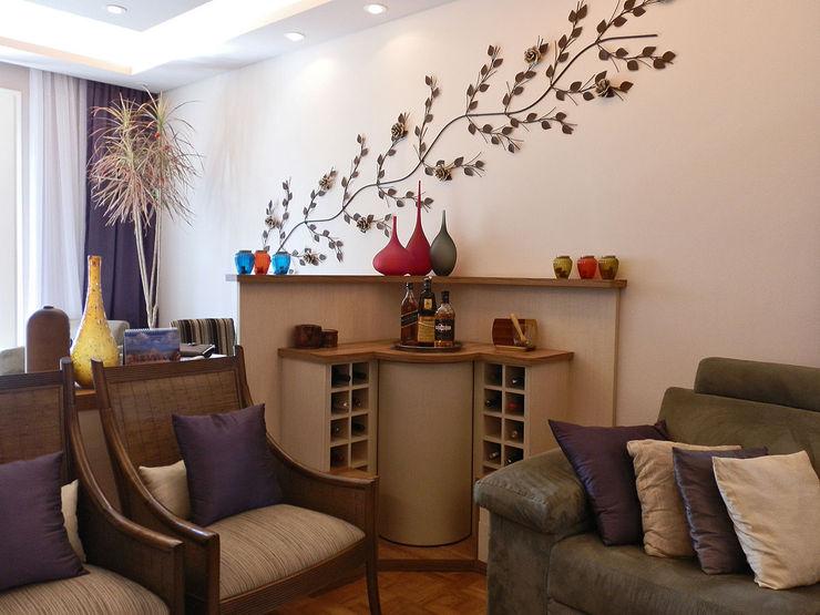 MBDesign Arquitetura & Interiores Modern Living Room