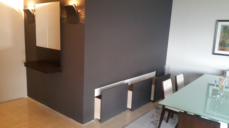 Mobiliario oculto en Pared (MADIE) Complementi Centro Decorativo