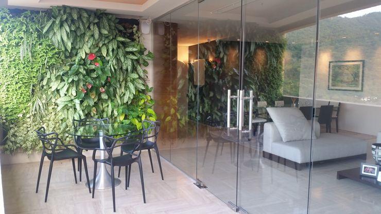 Integración Terraza con Salón y Comedor Complementi Centro Decorativo