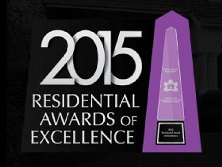 Award Winning Bathroom in Ontario, Canada ShellShock Designs Modern bathroom Tiles Multicolored