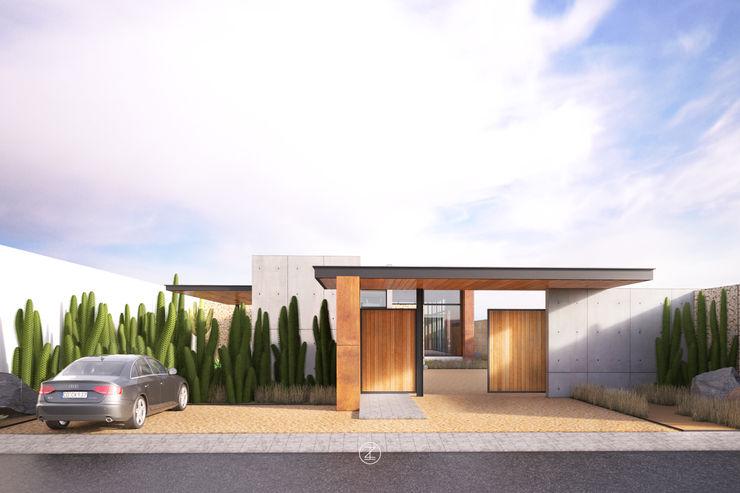 Lozano Arquitectos Modern houses Concrete