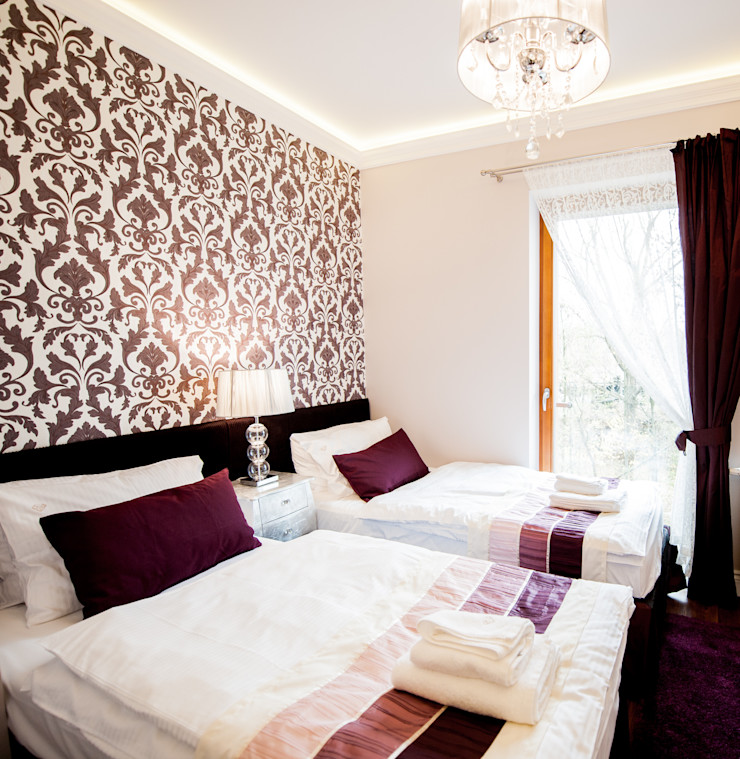 AgiDesign Classic style bedroom Purple/Violet
