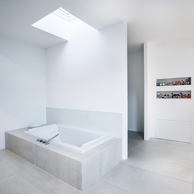 Skandella Architektur Innenarchitektur Minimalist bathroom