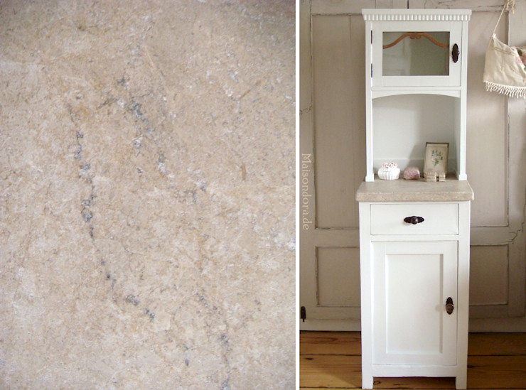 Maisondora Vintage Living Corridor, hallway & stairsDrawers & shelves Wood White