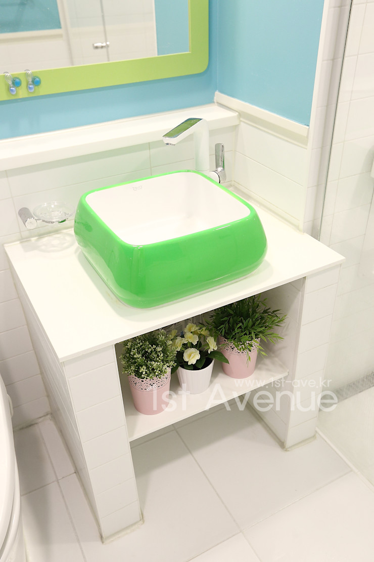 퍼스트애비뉴 Ванна кімната