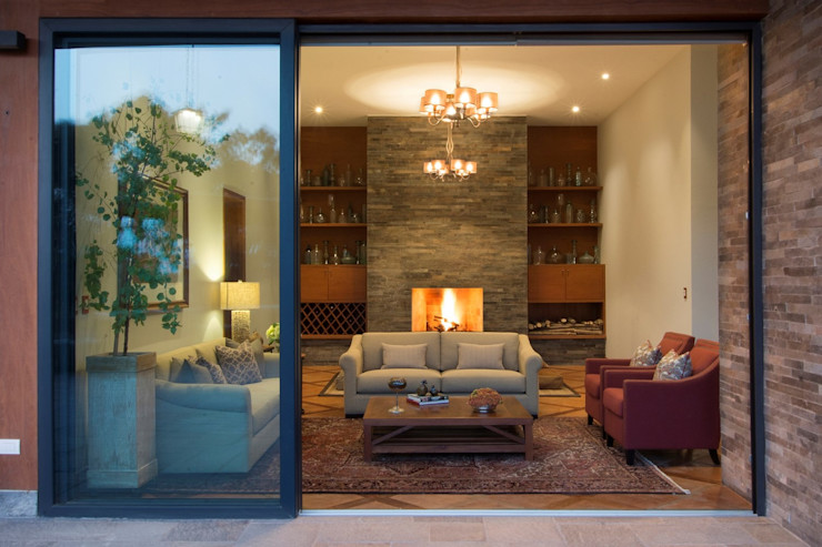 El centro de la casa DLPS Arquitectos Salas / recibidores