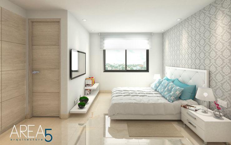 Evora85 Area5 arquitectura SAS Habitaciones modernas