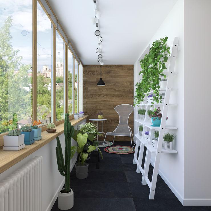 3D GROUP Balcones y terrazas escandinavas