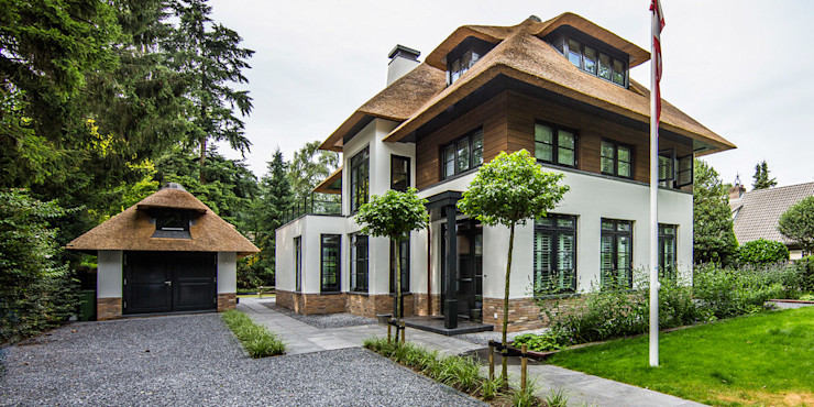 DENOLDERVLEUGELS Architects & Associates Country style house