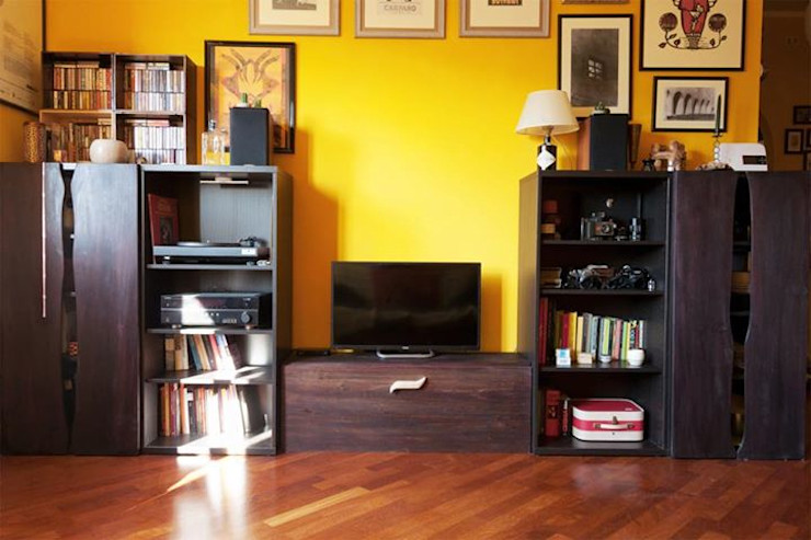 Ebanisteria Cinque Lune Living roomTV stands & cabinets Solid Wood