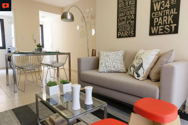 Trabajo para el estudio de Arquitectura LINK Inversiones. Sebastian Alcover - Fotografía Livings modernos: Ideas, imágenes y decoración