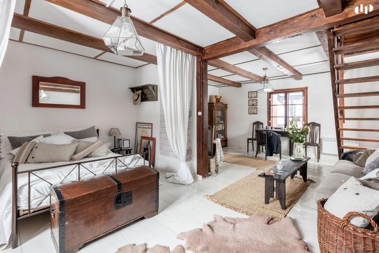 dziurdziaprojekt Colonial style bedroom