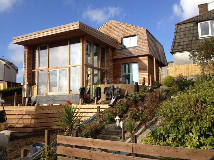 Wadebridge Responsive Home Innes Architects Modern houses Wood