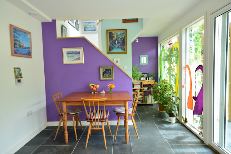 Porthcothan Responsive Home Innes Architects Modern dining room