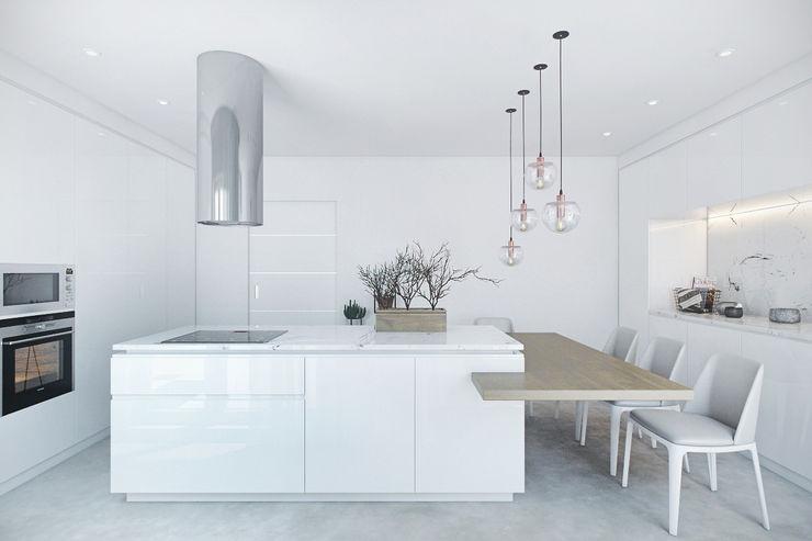DZINE & CO, Arquitectura e Design de Interiores Cocinas de estilo moderno