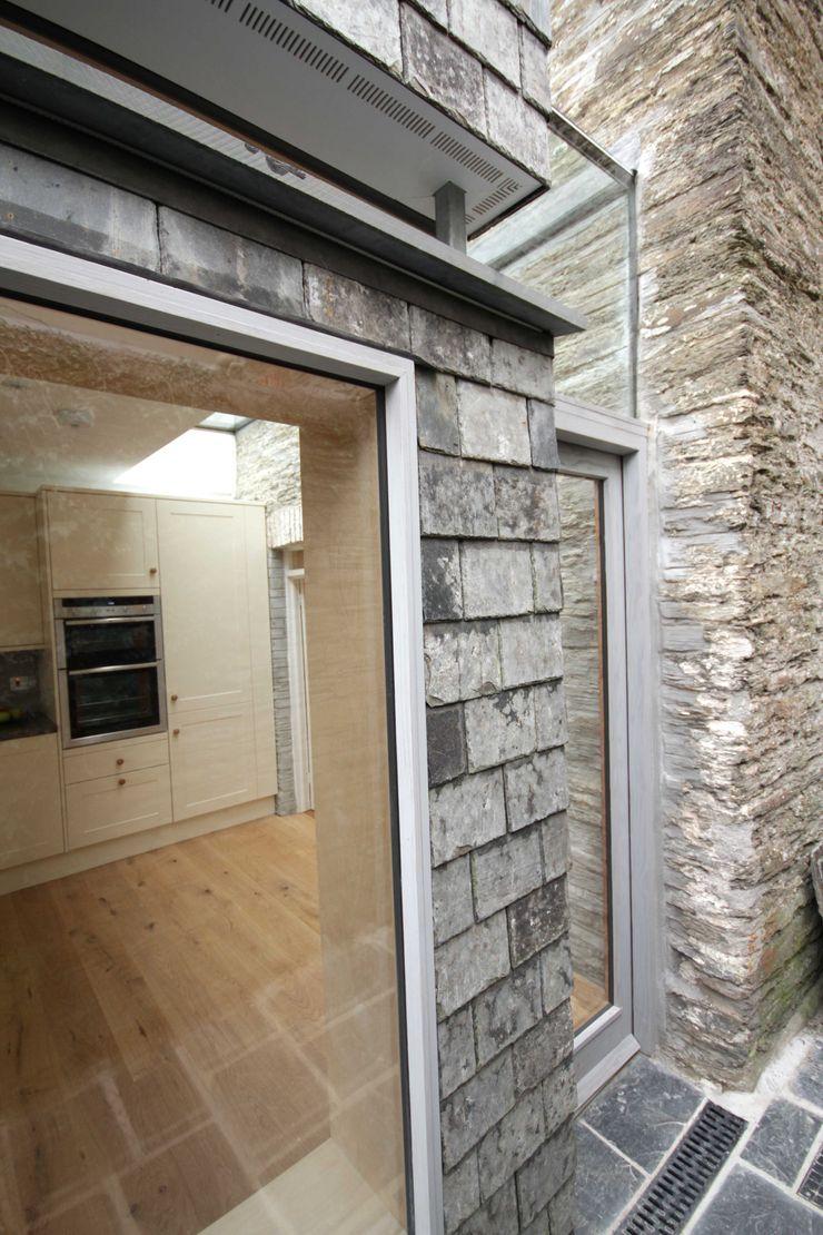 Whiterock Innes Architects Modern houses Slate