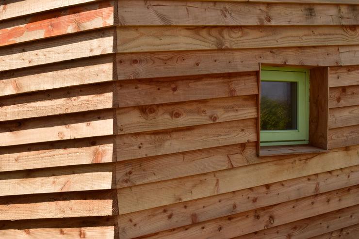 Sunways Innes Architects Modern houses Wood
