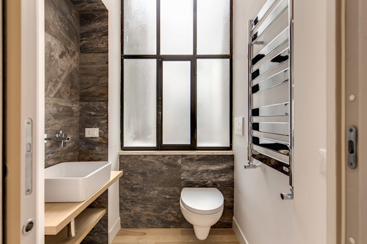 TRIESTE MOB ARCHITECTS Bagno moderno