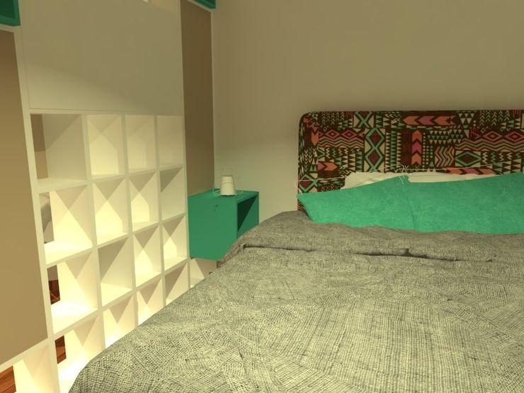 Estudio BDesign Modern nursery/kids room Wood White