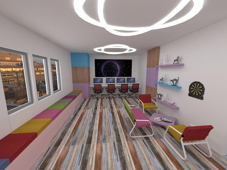 Bürotime Study/office Wood-Plastic Composite Purple/Violet